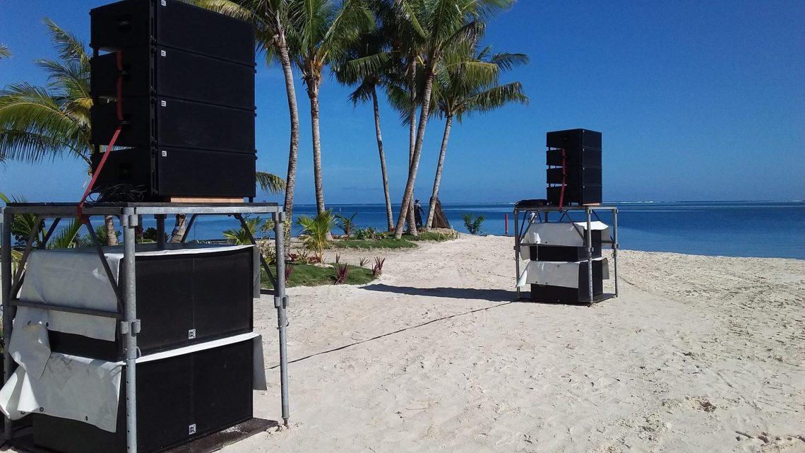 Plaj Ses sistemleri