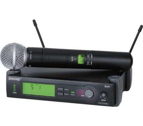Shure SLX serisi telsiz mikrofon